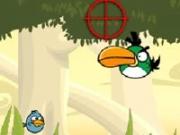 Игра Angry Birds: Стрельба по птицам