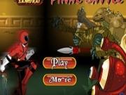 Игра Рейнджеры Самураи убегают от монстров