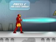 Игра Железный человек в лаборатории