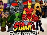Игра Тони Старк Защищает Город
