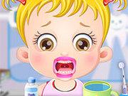 Игра Малышка у зубного