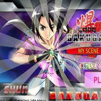 Игра Создание плаката Бакуган