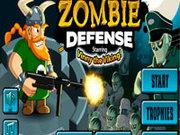 Игра Викинги: защита от зомби