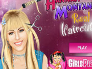 Игра Ханна Монтана - Прически в парикмахерской