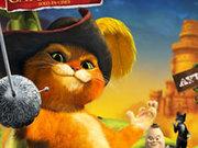 Игра Кот в сапогах на волшебном дереве
