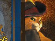 Игра Кот в сапогах ворует волшебные бобы