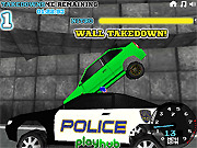 Игра Супер полиция. Преследование