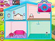 Игра Принцесса Мерида украшает Кукольный дом