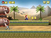 Игра Марио в Египете