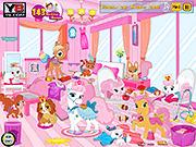 Игра Принцесса София и домашние животные
