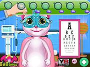 Игра Говорящая Анжела - лечение глаз