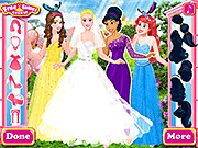 Игра Disney Princess Bridesmaids