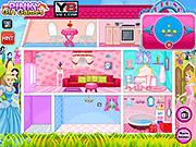 Игра Кукольный дом домашних животных принцессы