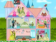 Игра Свадебный кукольный дом принцессы Тиана