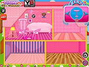 Игра Свадебный кукольный дом Барби