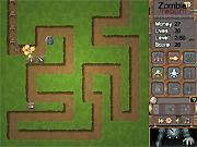 Игра Зомби перерождение: защита башни