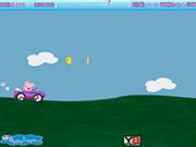 Игра Гонка на автомобилях. Свинка Пеппа