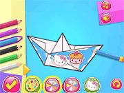 Игра Класс оригами - Хелло Китти