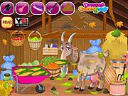Игра Очистка сарая для коз