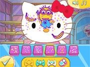 Игра Живопись лица Kitty