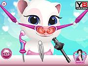 Игра Ребенок, говорящий доктор носа Angela