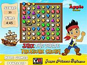 Игра Jake пиратская давка сокровища