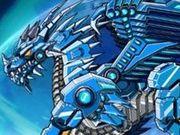Игра Ледяной робот-дракон