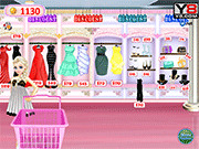 Игра Эльза, делающая покупки в Аллее