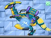 Игра Дино Робот - Молния
