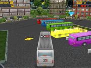 Игра Паркуя автобус в 3D