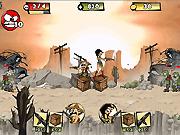 Игра Зомби не могут прыгать 2