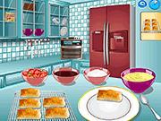 Игра Кулинарный класс Сары - Слоеный торт Наполеон