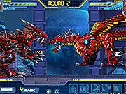 Игра Огненный робот-дракон