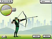 Игра Лига Справедливости - Зеленый Лучник