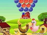 Игра Цыпленок и пузыри