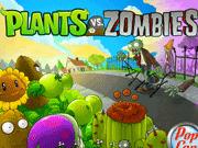 Игра Les zombies contre les plantes