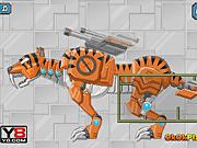 Игра Роботы динозавры: Смилдон