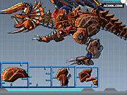 Игра Робот-трицератопс