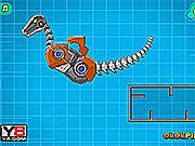 Игра Роботы динозавры: Раптор