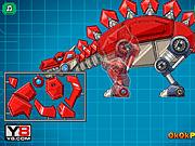 Игра Роботы динозавры: Стегозавр