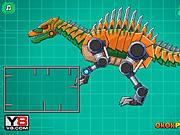 Игра Роботы динозавры: Спинозавр (военный)