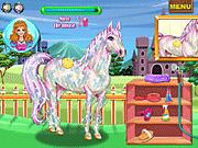 Игра Забота j лошади принцессы