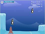 Игра Спасение пингвина