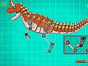 Игра Роботы динозавры: Карнотавр