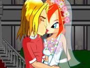 Игра Поцелуи Винкс