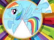 Игра Пони: Круглый пазл