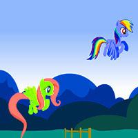 Игра На двоих пони