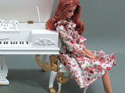 Игра Пианино Барби