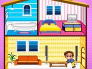 Игра Строим дом для Барби