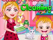 Игра Малышка Хейзел: Уборка дома